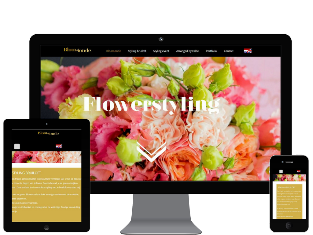 Bloomonde website