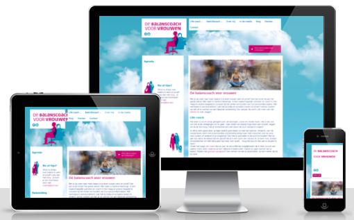 verbeteren website de balanscoach voor vrouwen