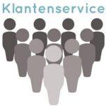 De service van de online klantenservice (webcare)
